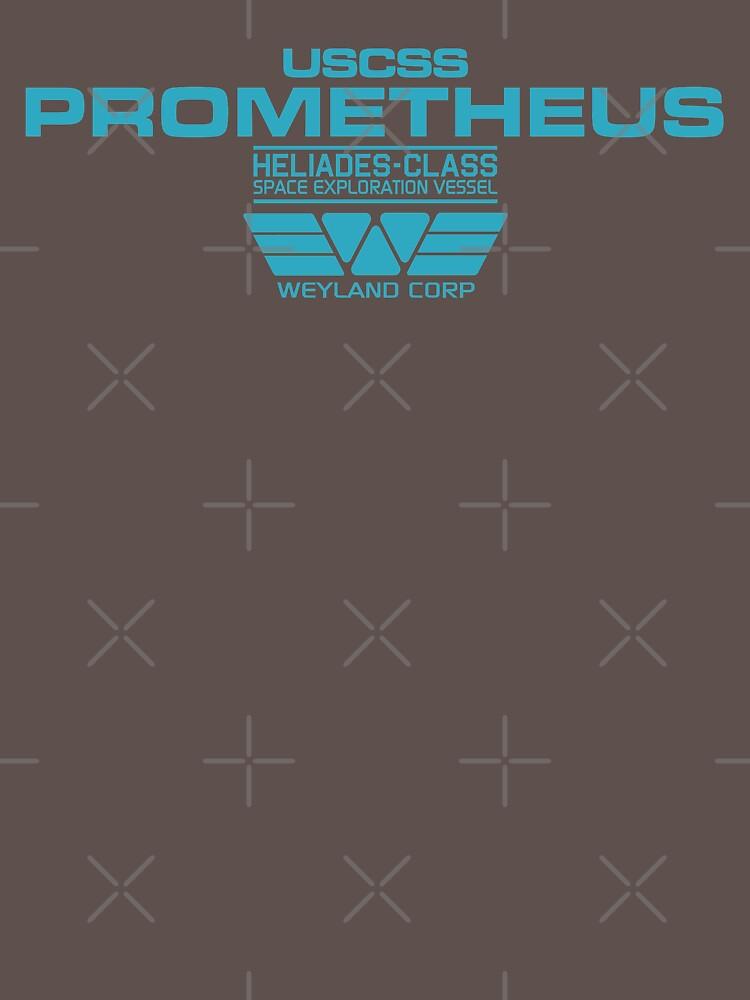 TShirtGifter presents: Prometheus - Weyland Corp - Crew | Unisex T-Shirt