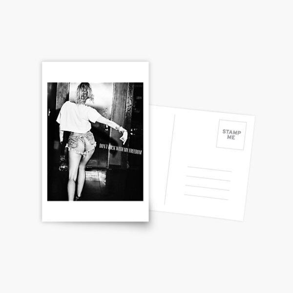 Miley Cyrus Postcard