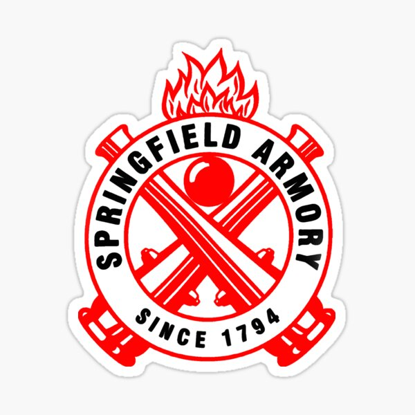 Symbole du manège militaire de Springfield Sticker