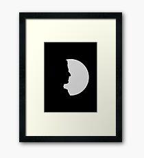 twelfth doctor shadow Framed Print