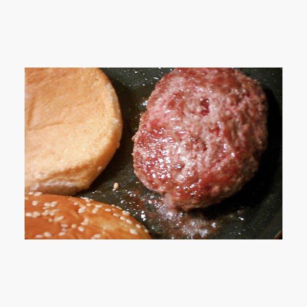 Just a burger Photographic Print