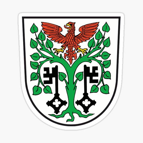 Wappen von Mittenwalde, Deutschland Sticker