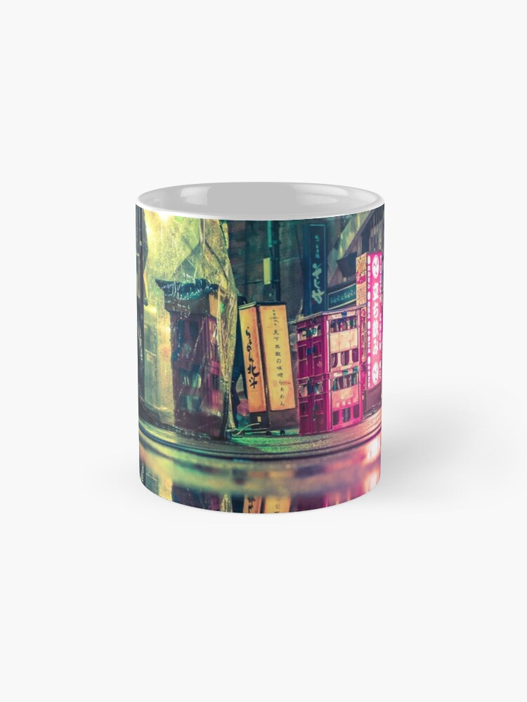 Alternate view of Reflection of Neo-Tokyo Mug