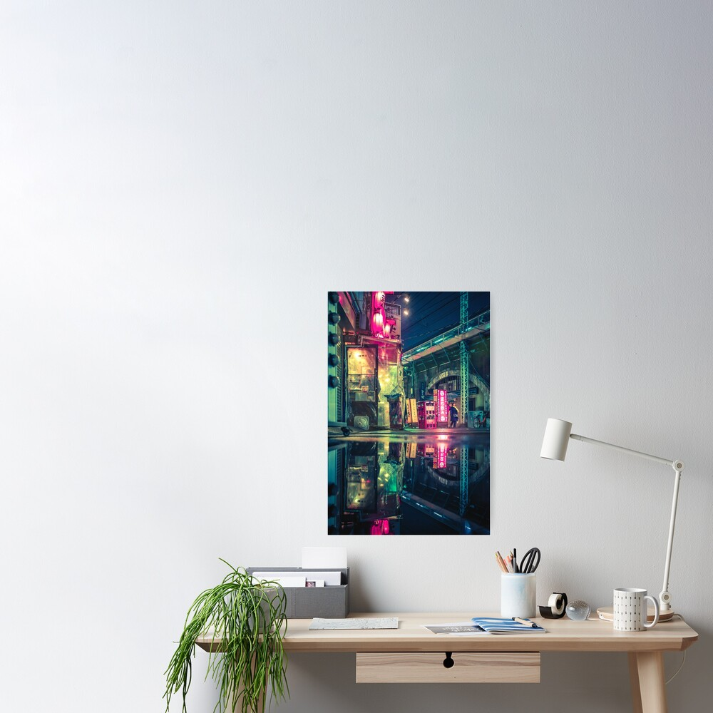 Reflection of Neo-Tokyo Poster