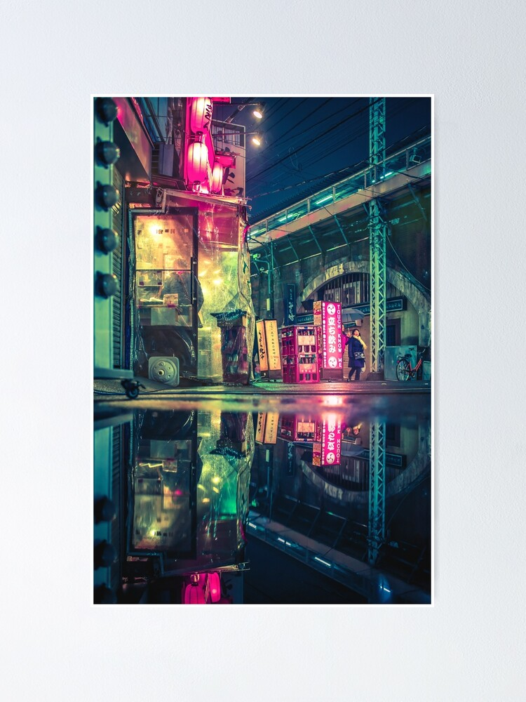 Alternate view of Reflection of Neo-Tokyo Poster