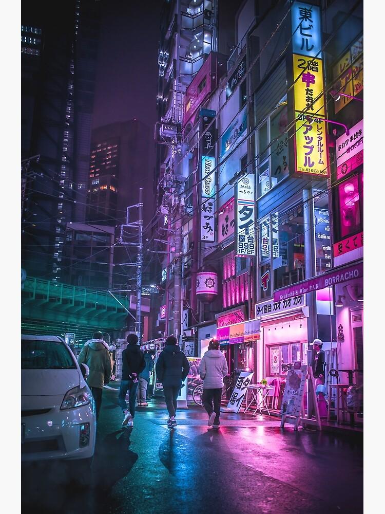 Cyberpunk Aesthetic in Tokyo Japan by TokyoLuv