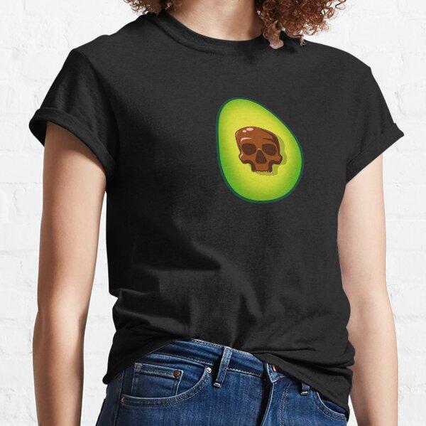 Avocado Skull Classic T-Shirt