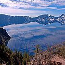 Crater Lake Reflections by Martin Smart
