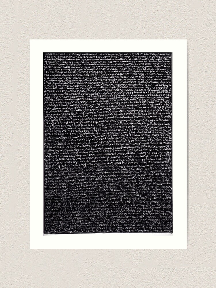"""Alternate view of Dictionary 66"""" (unassailable-utmost) Art Print"""