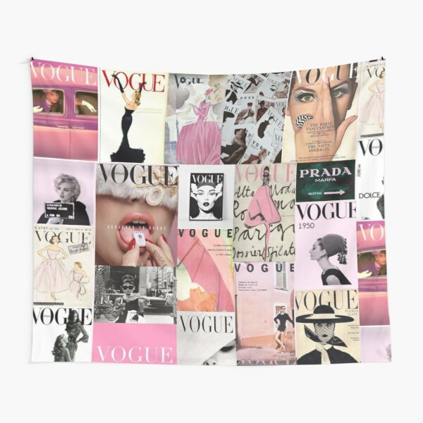 Vogue Tapestries Redbubble