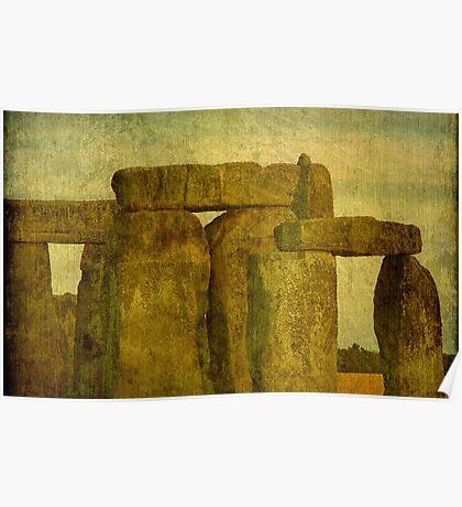 Stonehenge, Amesbury UK  ©  Poster