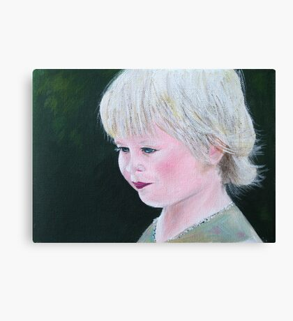 Golden-haired  Canvas Print