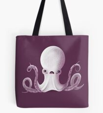 Ghostly Octopus Tote Bag
