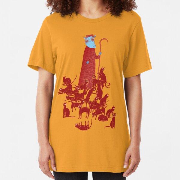 Herding Cats Slim Fit T-Shirt