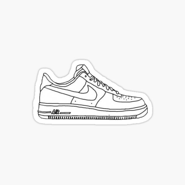 Sticker: Air Force 1 | Redbubble