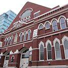 Ryman Auditorium, Nashville, TN  USA by Debbie Robbins