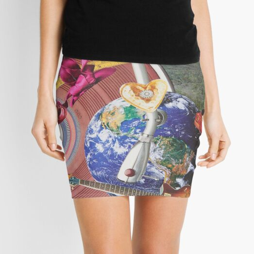 Loops of Earth Love Mixes to Dance into the New Year Mini Skirt
