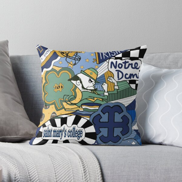 Notre Dame / Saint Mary's College  Throw Pillow