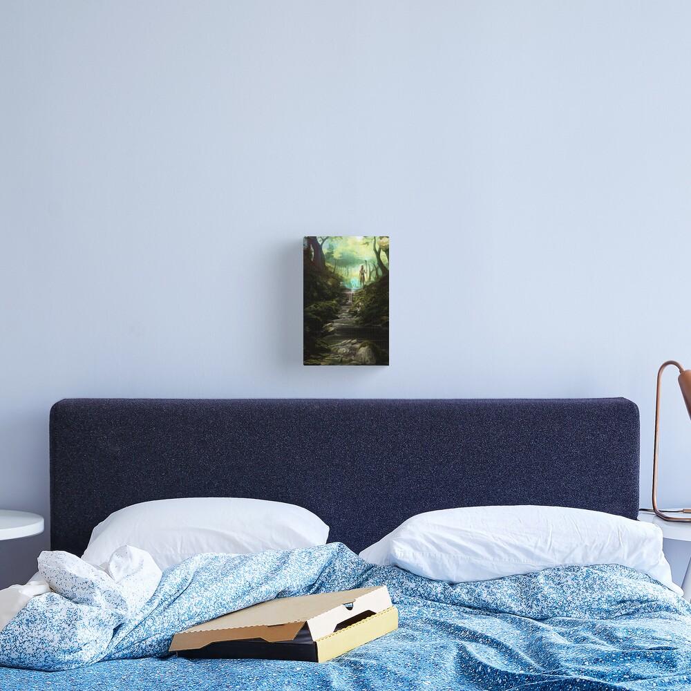 Beyond the Veil Forest Canvas Print