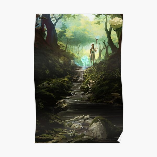Beyond the Veil Forest Poster