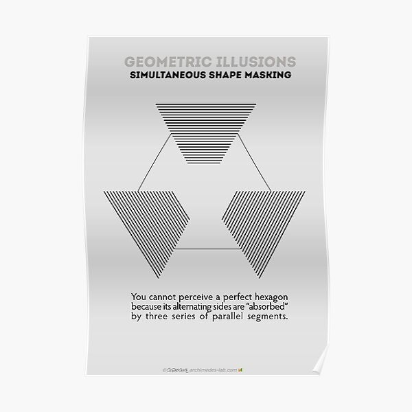 Psychology of Shapes Poster