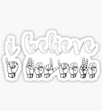 I Believe - Spring Awakening Sticker