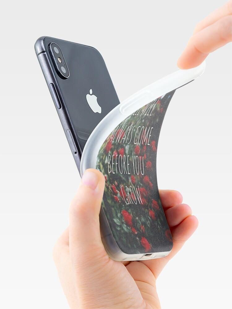 Vista alternativa de Funda y vinilo para iPhone Letras Roots