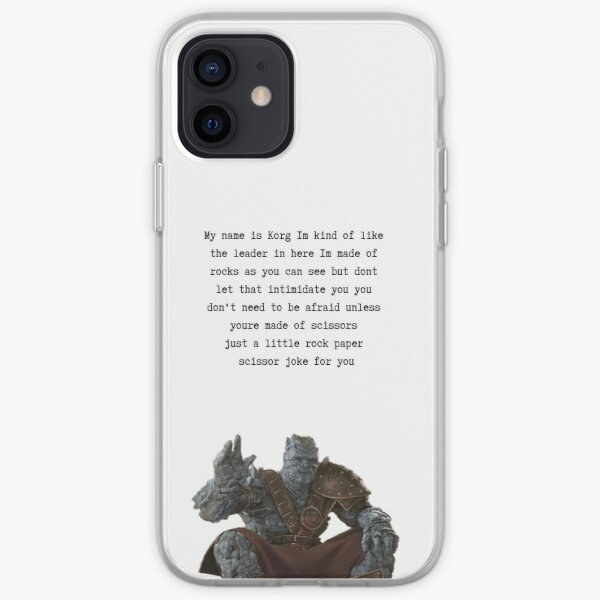 My name is korg iPhone Soft Case