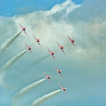 The Red Arrows by CatherineV