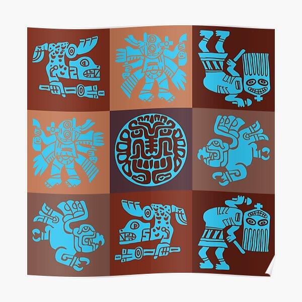 Inca Warriors Dance Poster
