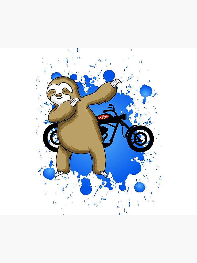 Sloth and Motorbike by KeithHawley