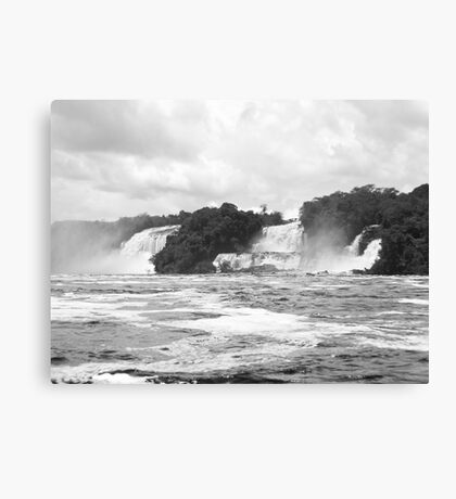 Waterfalls, Canaima Lagoon Canvas Print