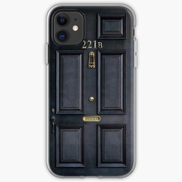 221B - Sherlock Door iPhone Soft Case