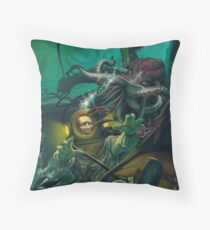 Cthulhu Star Spawn Throw Pillow