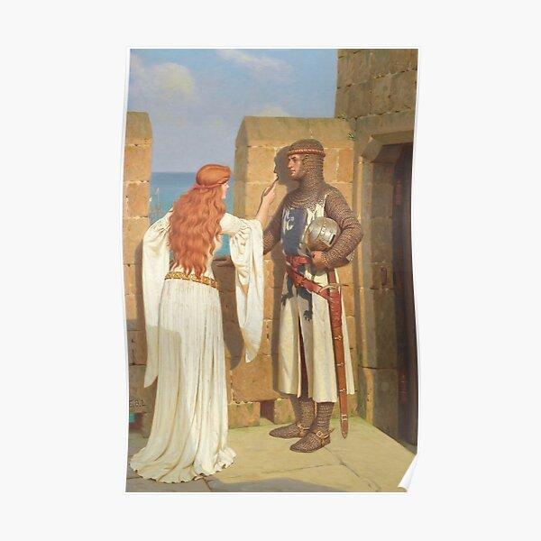 The Shadow, Edmund Blair Leighton 1909 Poster