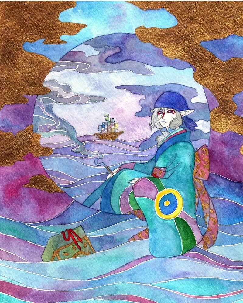 Mononoke Medicine Seller by Paramonos