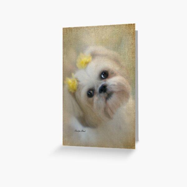 Pretty Girl Greeting Card