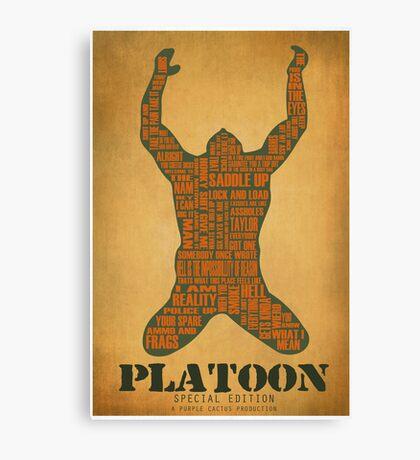 Platoon redux Canvas Print