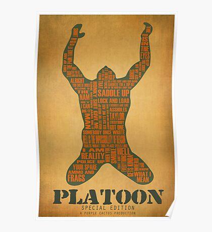 Platoon redux Poster