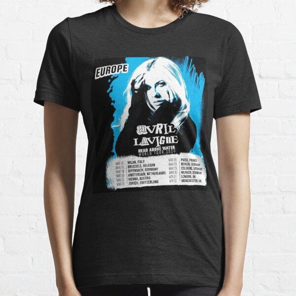 avril lavigne tour 2020 coklat Camiseta esencial