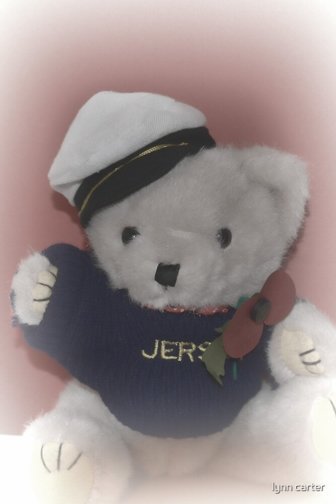 Skipper Josh Wears His Poppy With Pride by lynn carter