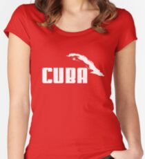 CUBA Women's Fitted Scoop T-Shirt