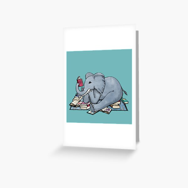 The Best Thing About Rainy Days Greeting Card