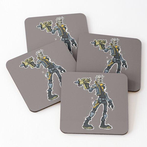Borderlands 3 - Zane Coasters (Set of 4)
