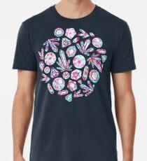 Kaleidoscope Crystals  Premium T-Shirt
