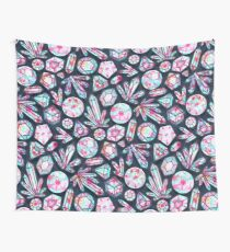 Kaleidoscope Crystals  Wall Tapestry