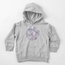 Kaleidoscope Crystals - Grey  Toddler Pullover Hoodie