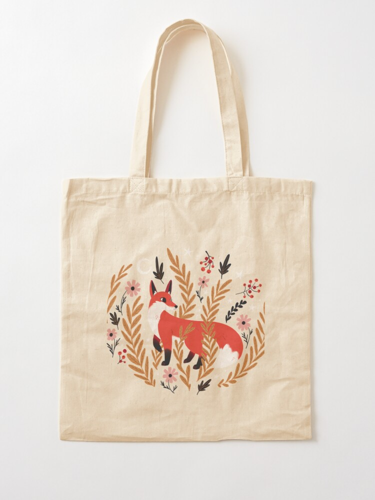 Alternate view of First snow Tote Bag