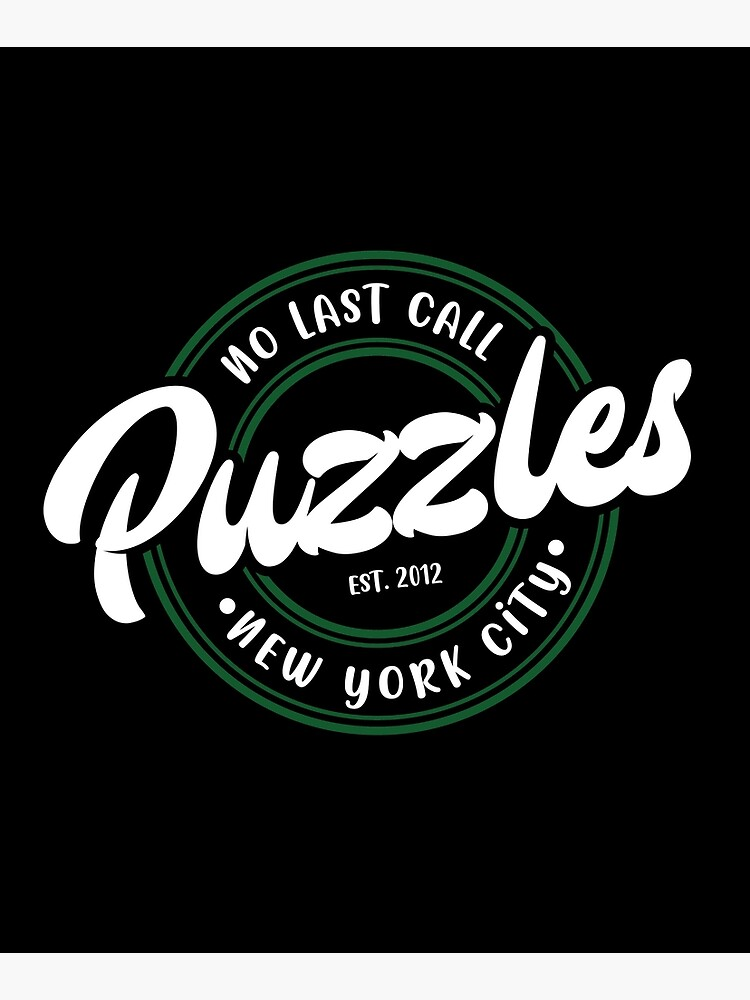No Last Call! Puzzles in white by lisa-richmond