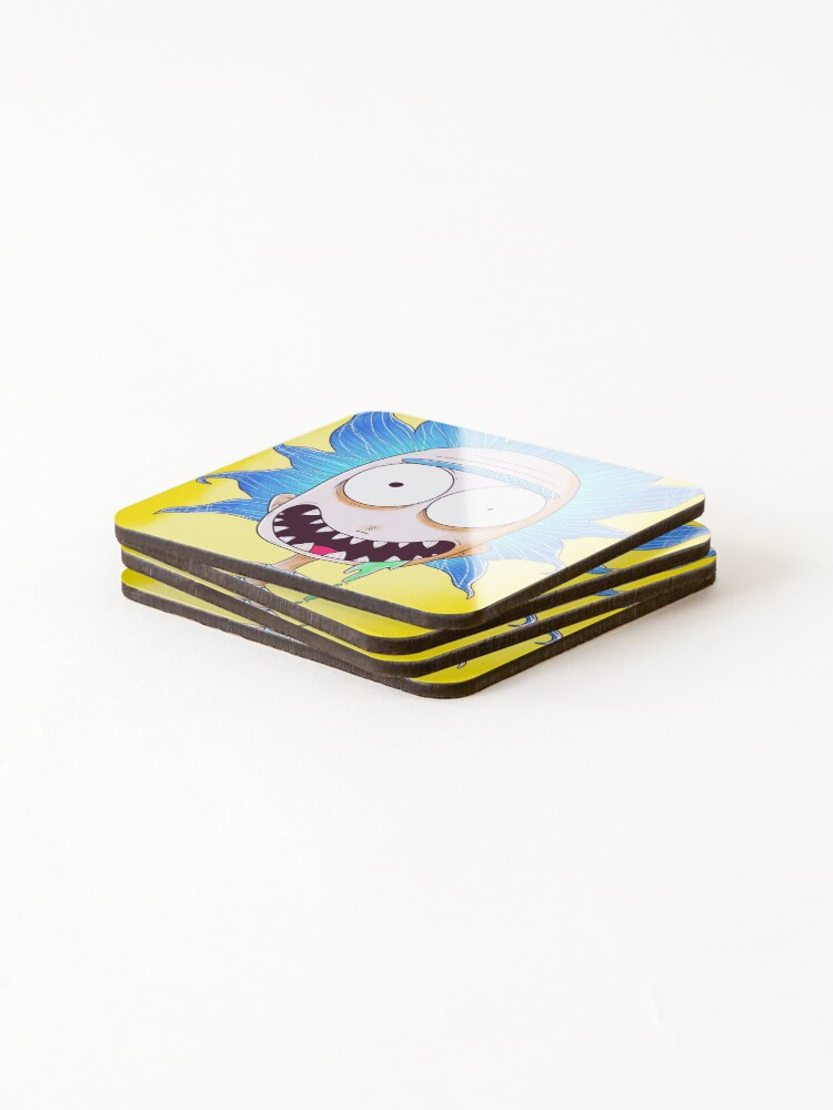 Alternate view of WUBBA LUBBA DUB DUB Coasters (Set of 4)